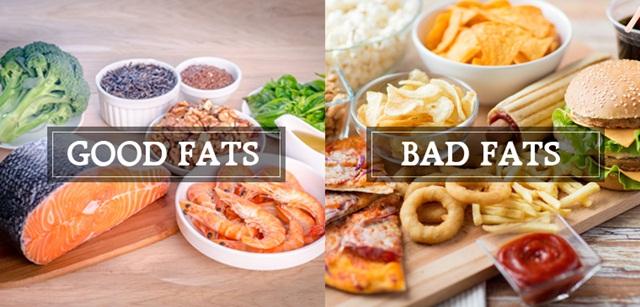 Chất béo có lợi và có hại cho cơ thể
