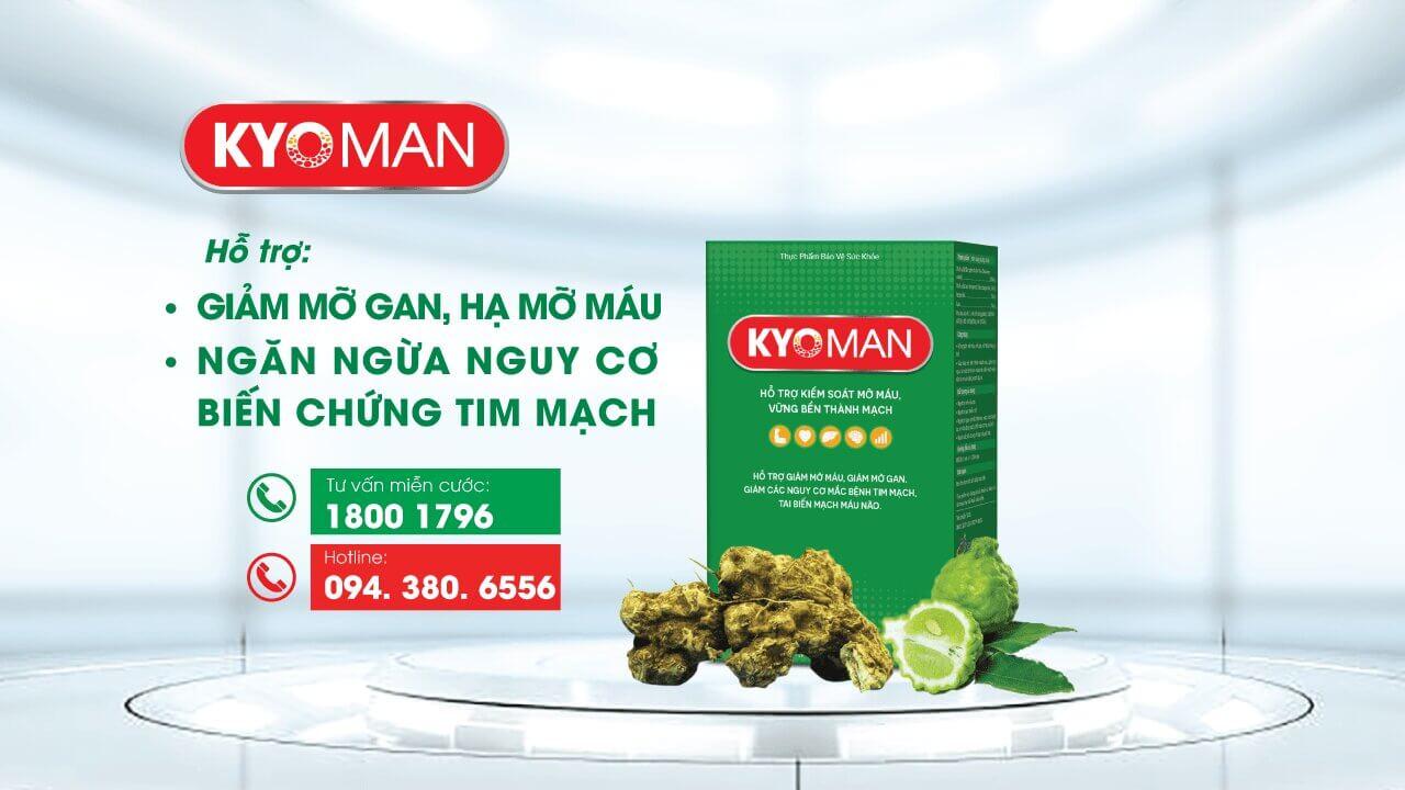 kyoman giải pháp chuyên biệt cho người mỡ máu