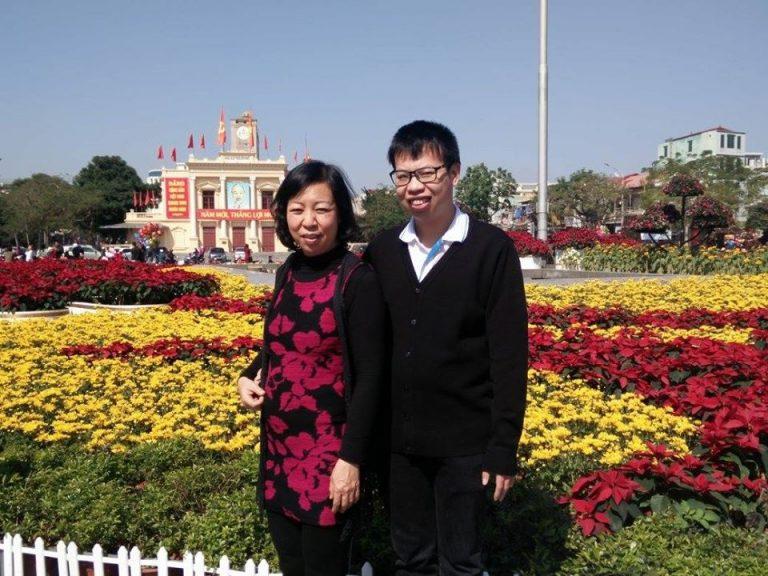 Anh Đặng Văn Chính và cô Nhung