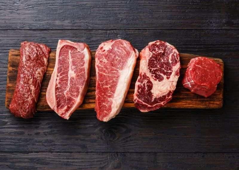 thịt đỏ có mỡ